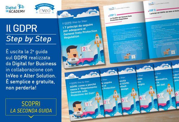 """""""Il GDPR Step by Step"""": la collana di guide che ti aiuta a capire il GDPR"""