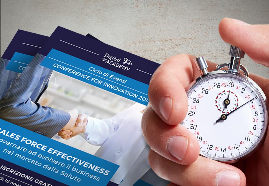La Sales Force Effectiveness nel mercato della salute ecco il programma del seminario