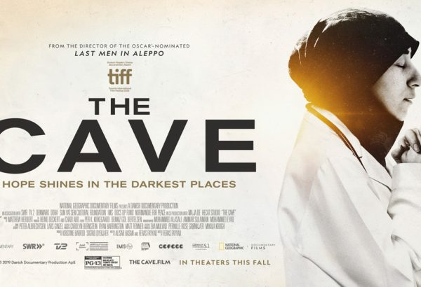Locandina documentario The cave
